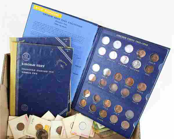 US & Foreign coins & currency