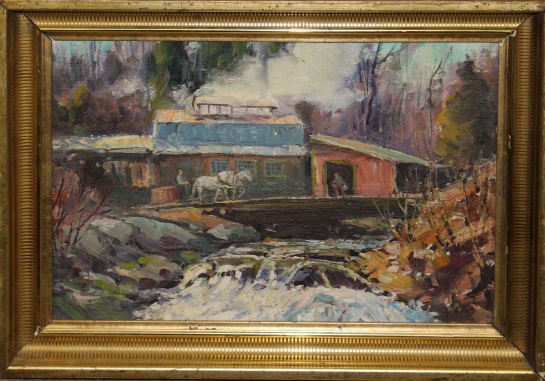 Thomas R Curtin (VT 1899-1977) The Sugarhouse