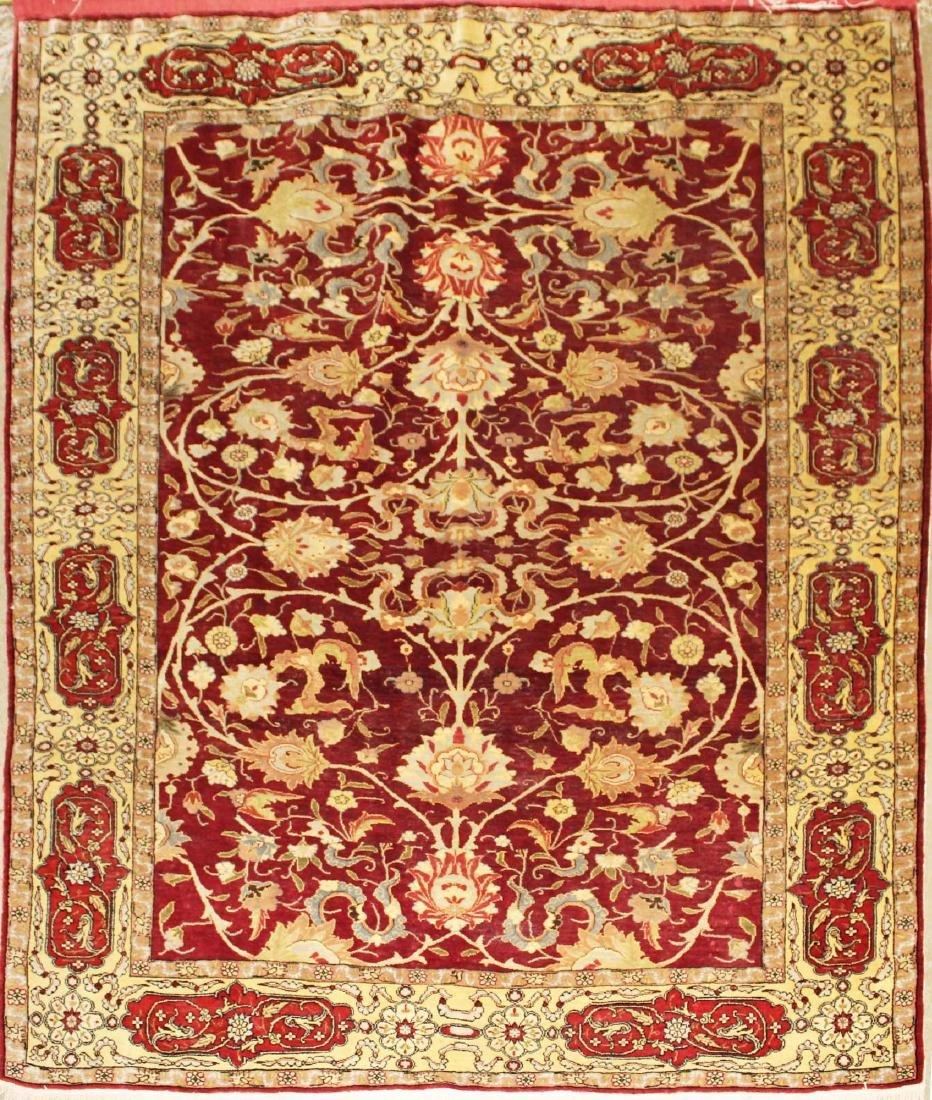 early 20th c Persian silk rug