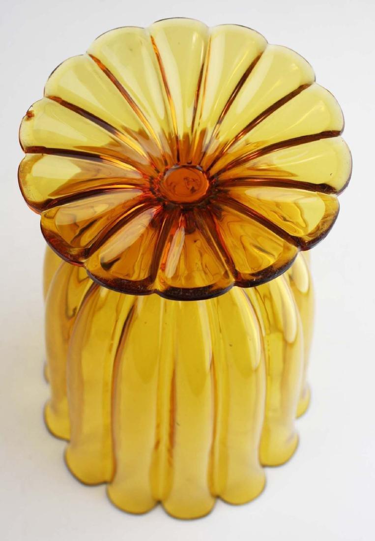 Josef Hoffmann Wiener Werkstatte art glass vase - 5