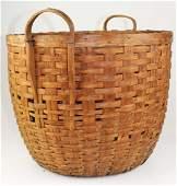 New England double handled basket