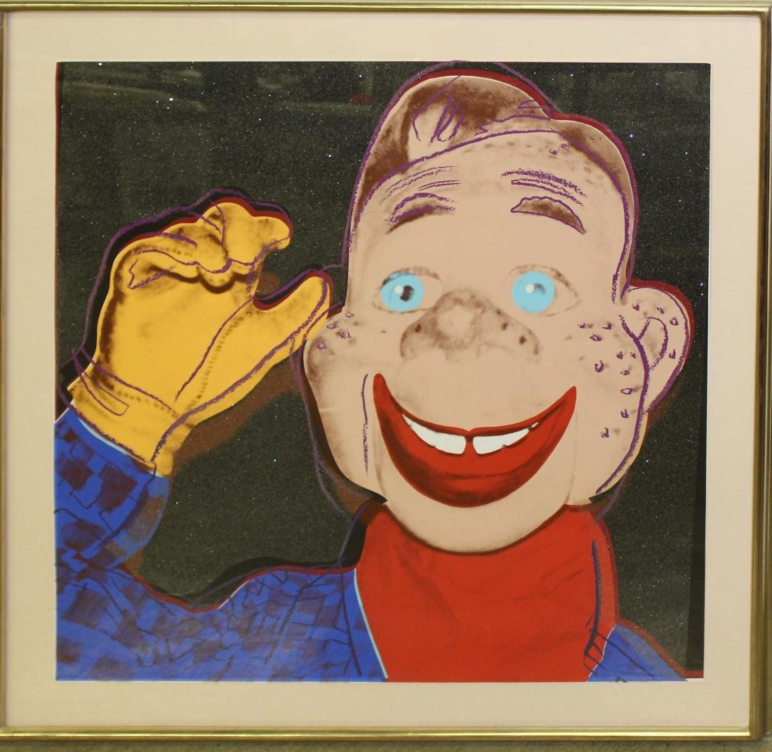 Andy Warhol (Am 1928-1987) Myths: Howdy Doody
