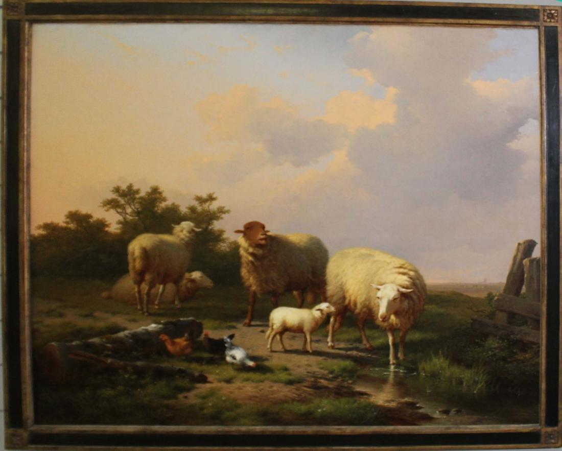 Eugene Verboeckhoven (Belgium 1799-1881)