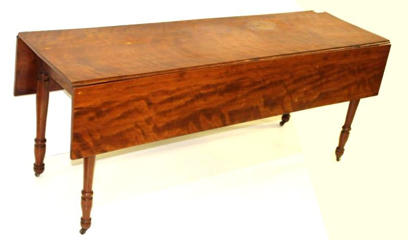 Sheraton birch drop leaf harvest table