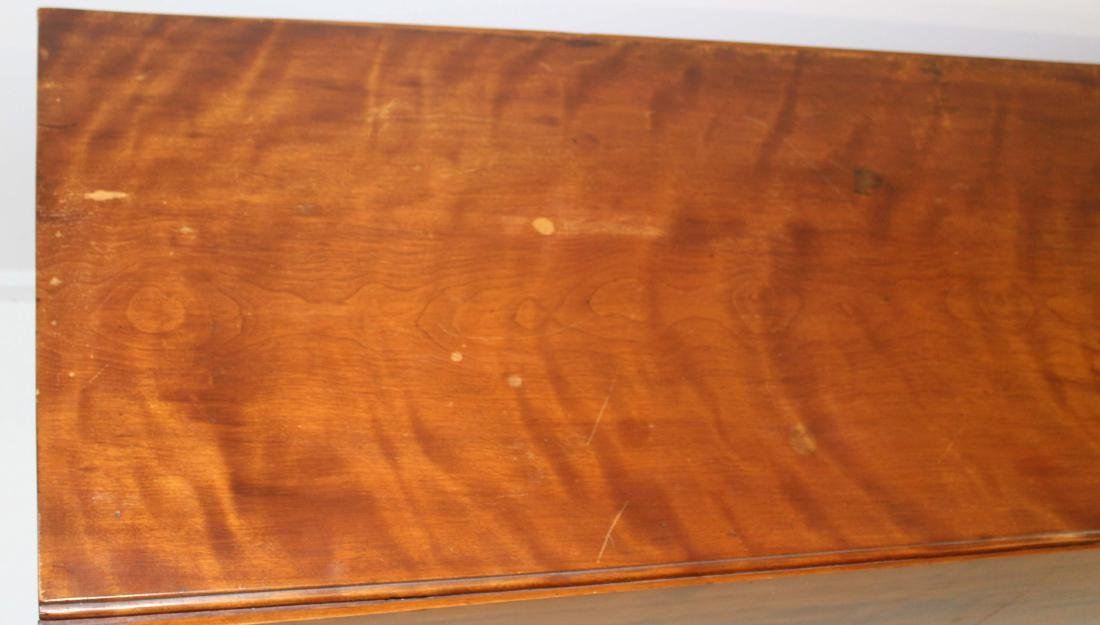 Sheraton birch drop leaf harvest table - 2