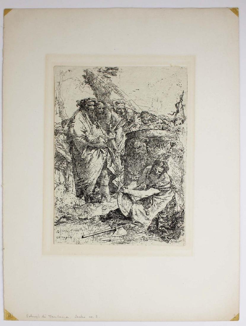 ca 1740 Giovanni Battista Tiepolo etching