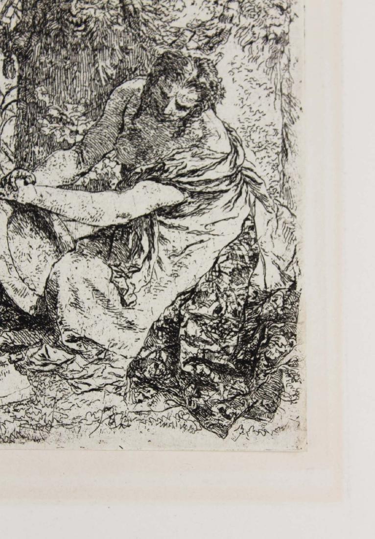 ca 1740 Giovanni Battista Tiepolo etching - 3