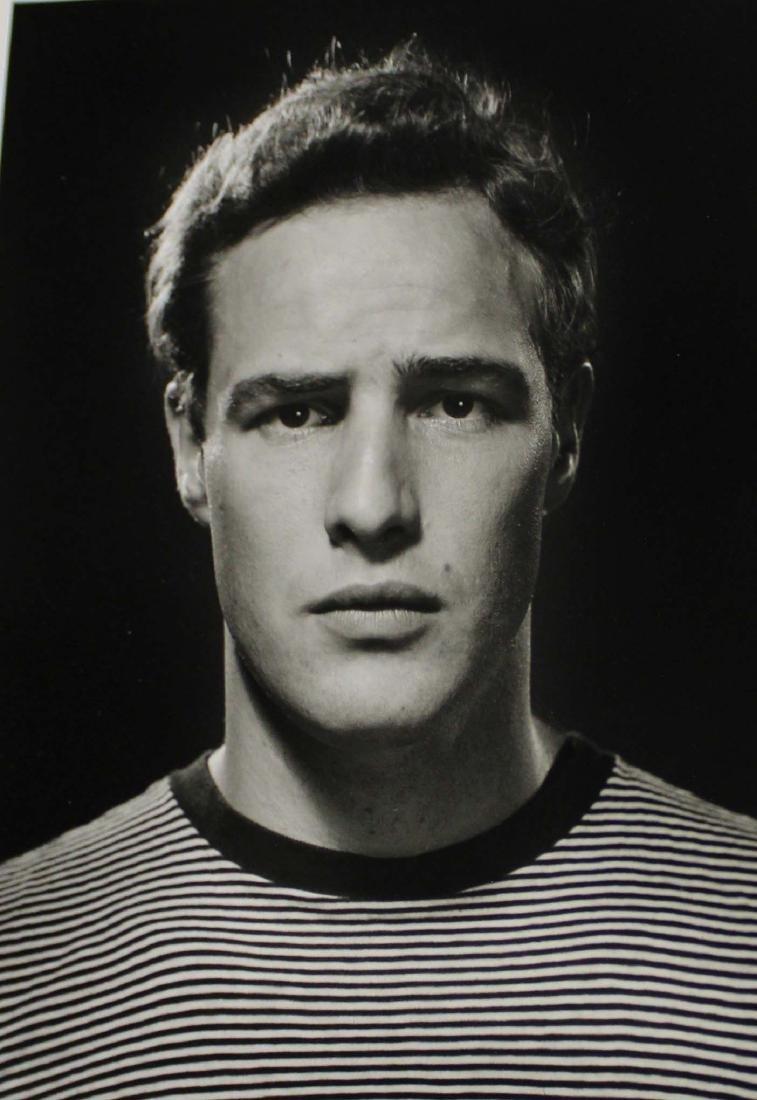 Philippe Halsman (AM 1906-1979) Marlon Brando