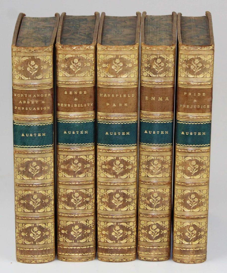 1897-1900 Novels of Jane Austen (5 vols)