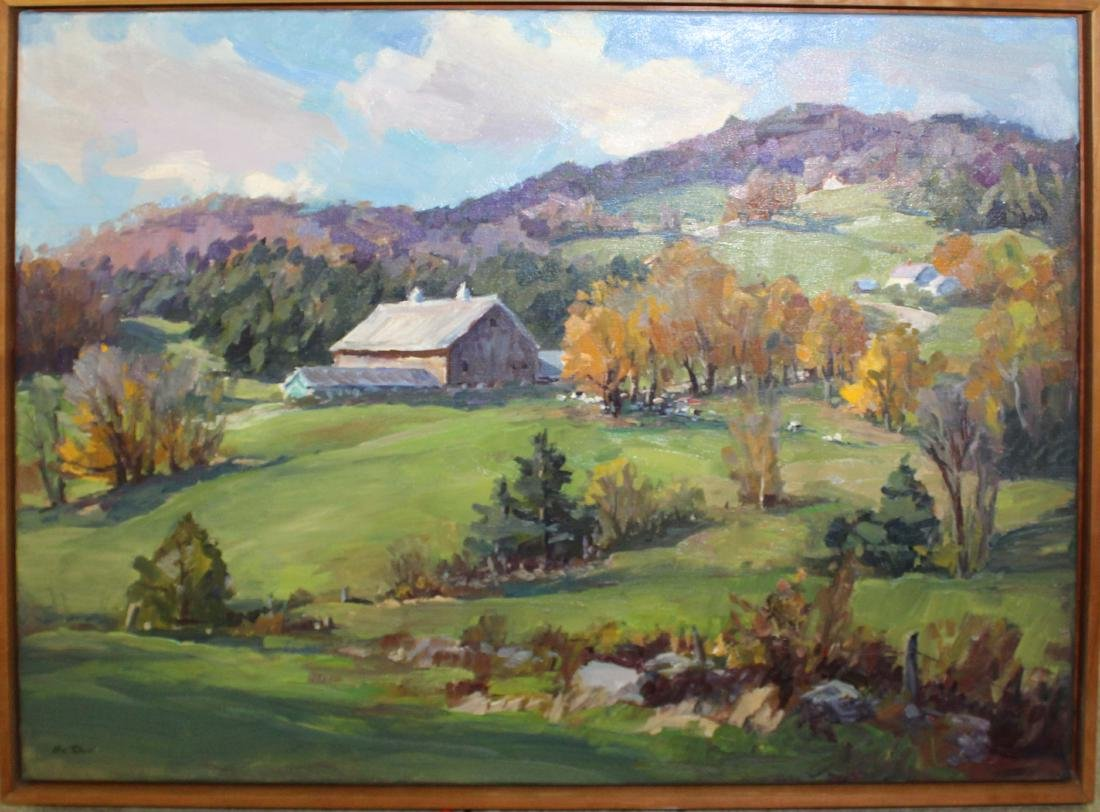 Eric Tobin (VT 1958-) Farm County