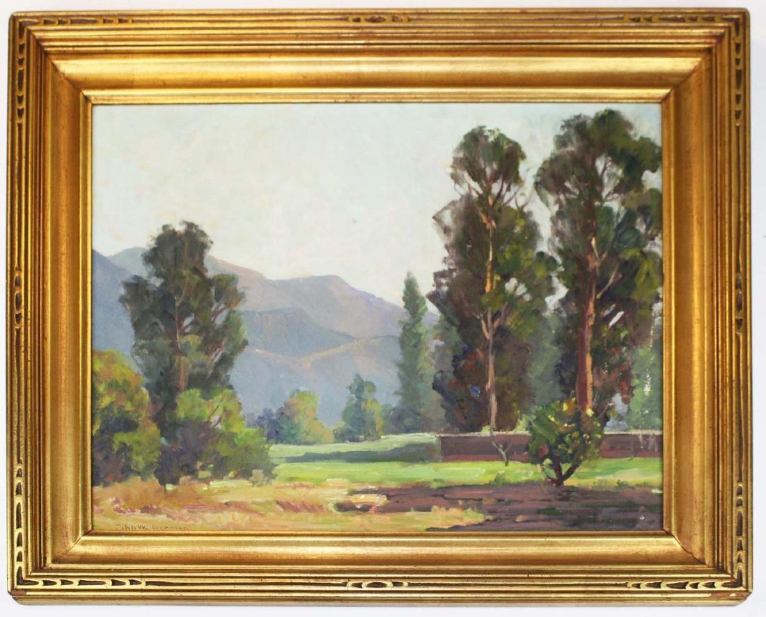 John W Sherman (AM 1881-1959) Near Ojai