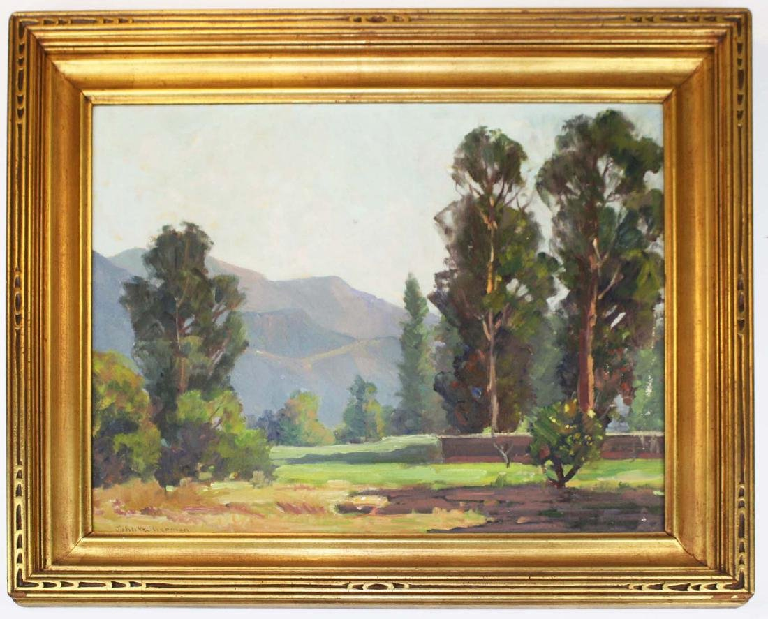 John W Sherman (AM 1881-1959) Near Ojai