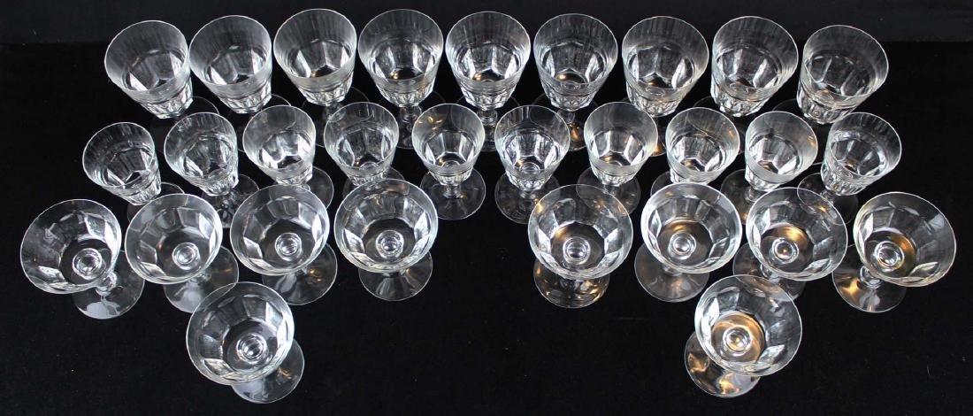 29 pcs Baccarat France crystal stemware - 3