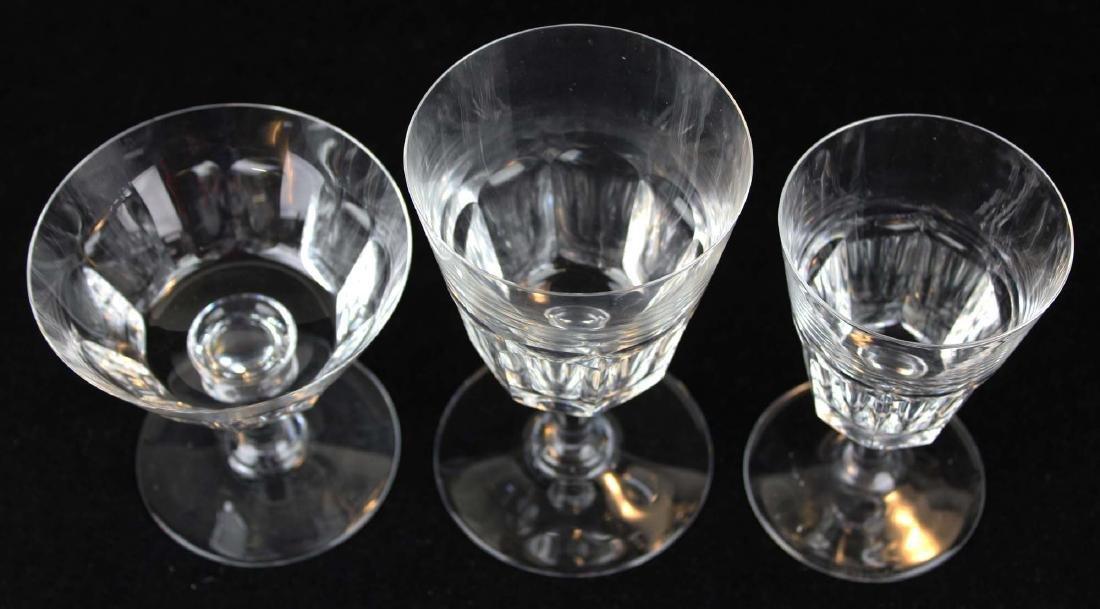 29 pcs Baccarat France crystal stemware - 4
