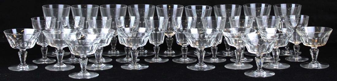 29 pcs Baccarat France crystal stemware - 7