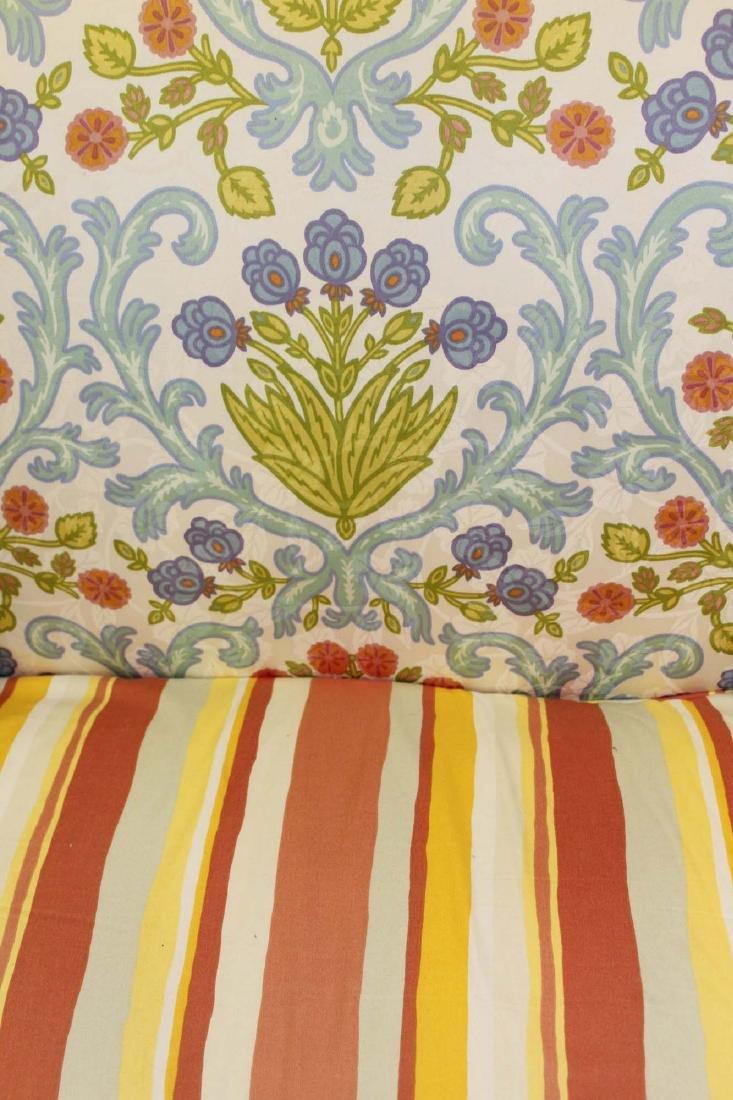 19th c Louis XVI floral upholstered sofa - 2
