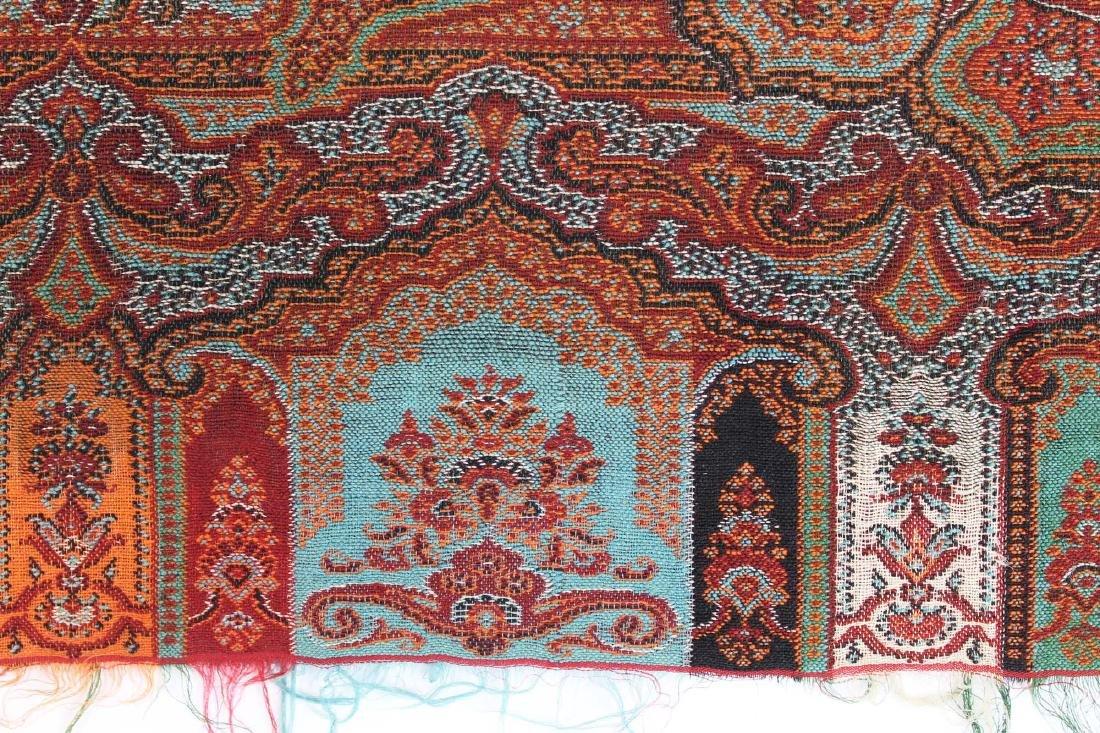 late 19th c paisley shawl - 2