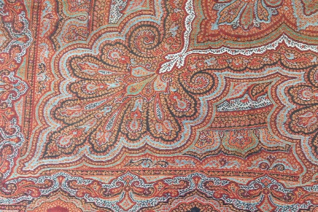 late 19th c paisley shawl - 4