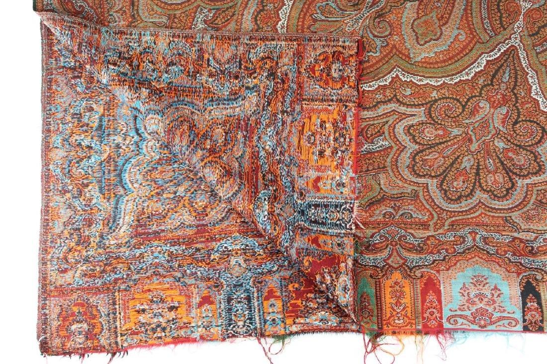 late 19th c paisley shawl - 5