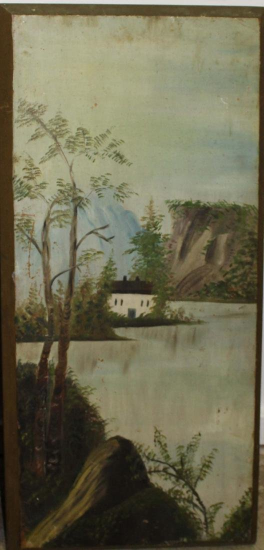 Pair of primitive landscapes - 2