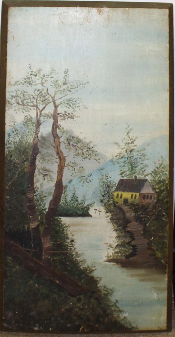 Pair of primitive landscapes - 3