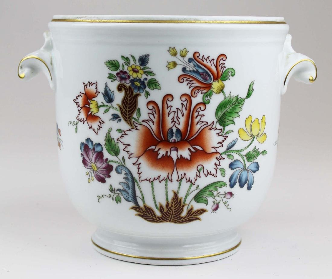 Richard Ginori Italy porcelain cache pot planter