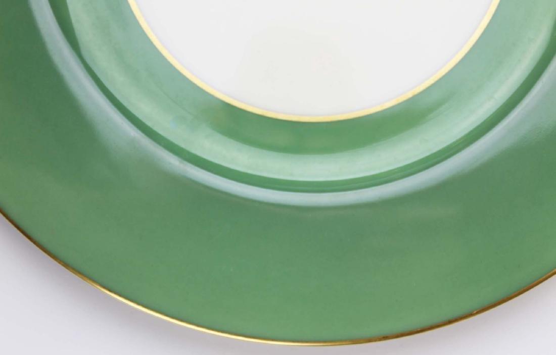 set of 12 Lenox porcelain dinner plates - 2