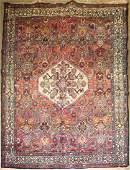 mid 20th c Persian Hamadan area rug