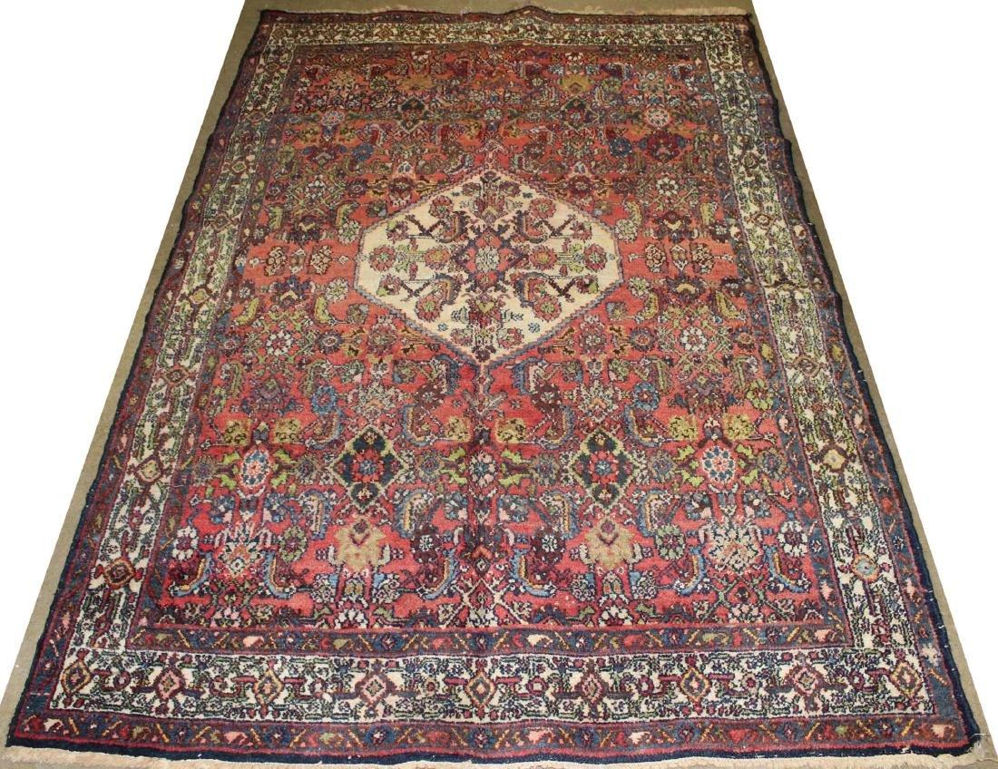 mid 20th c Persian Hamadan area rug - 2