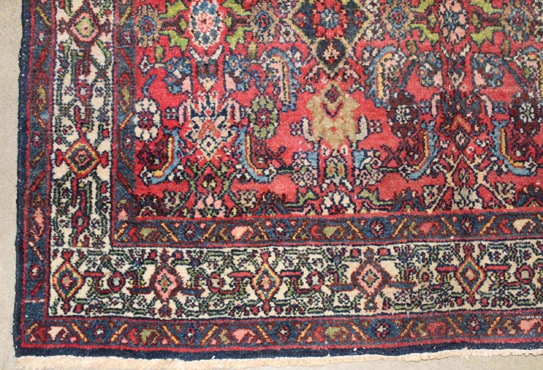 mid 20th c Persian Hamadan area rug - 3