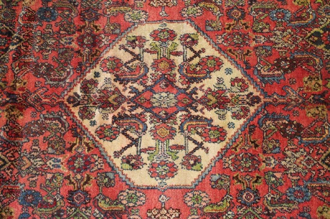 mid 20th c Persian Hamadan area rug - 4