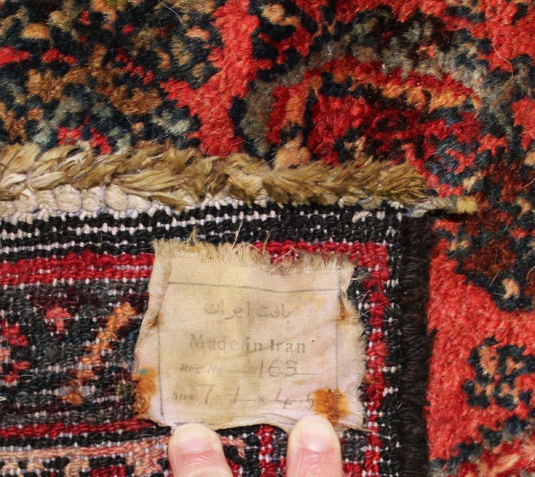 mid 20th c Persian Hamadan area rug - 6
