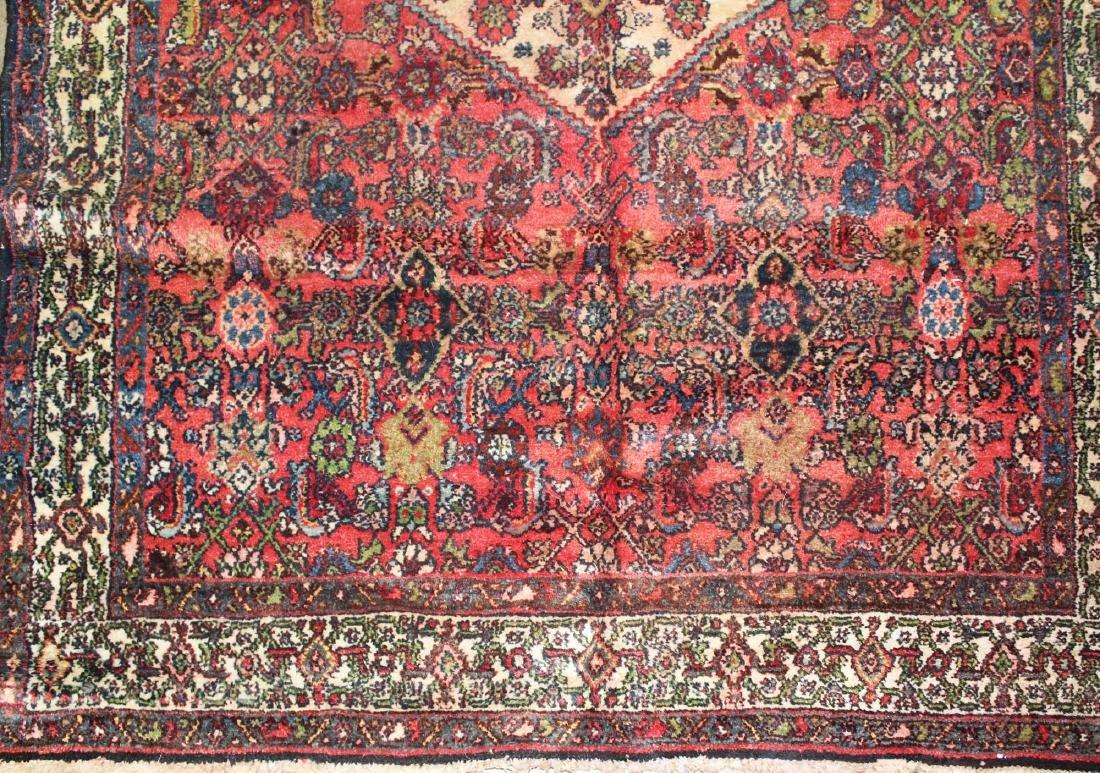 mid 20th c Persian Hamadan area rug - 7