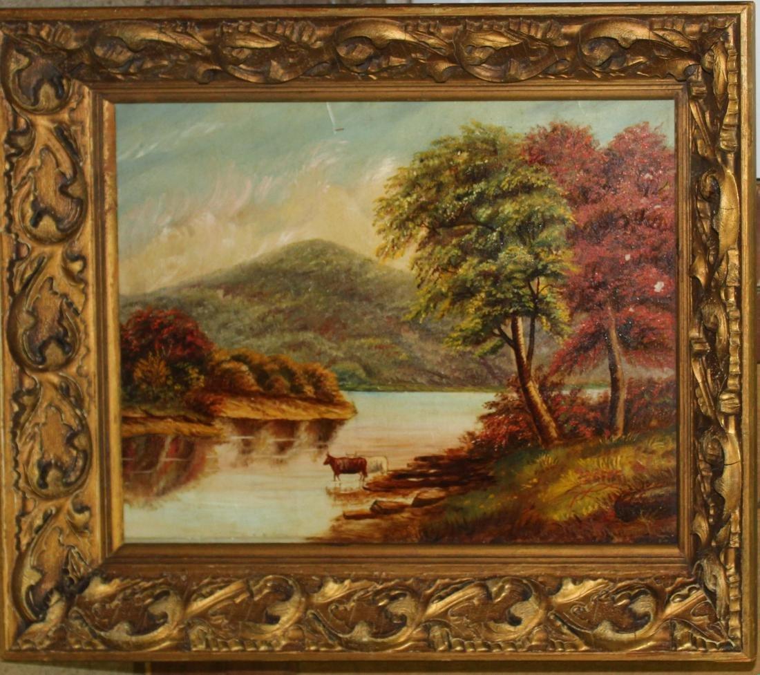 AG Martin On the  Muskingum River