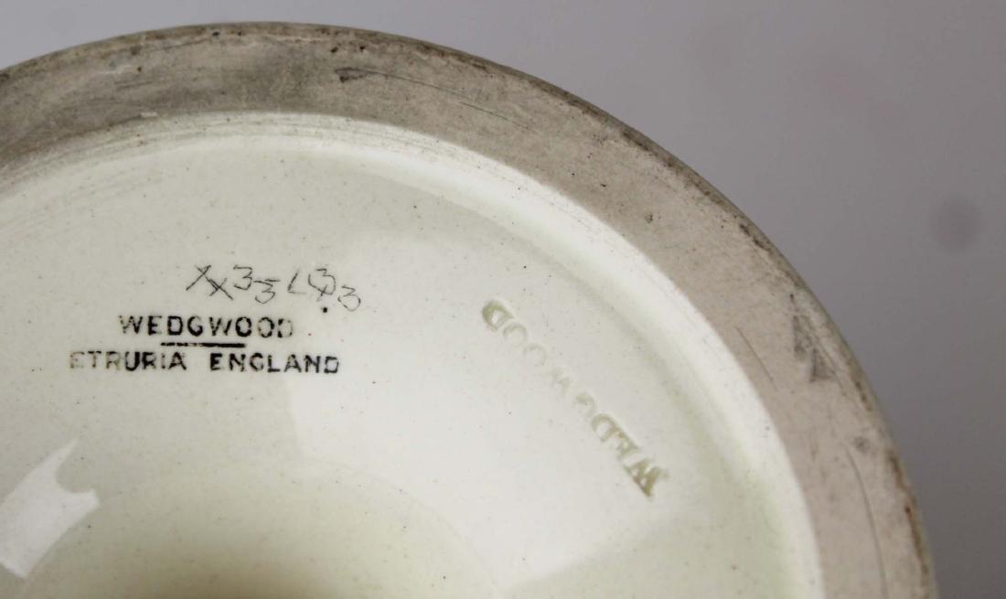 3 pcs of Wedgwood creamware pottery - 7
