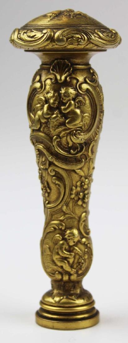 late 19th c Ferdinand Barbedienne bronze seal