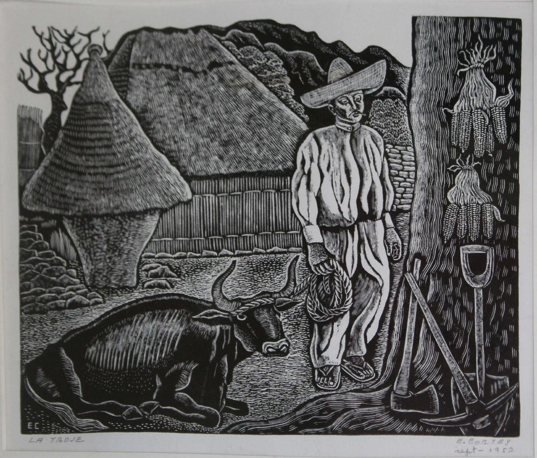 Erasto Cortez Juarez (MX 1900-1972) La Troje