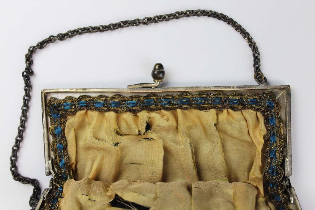 vintage Art Deco era beaded purse - 5