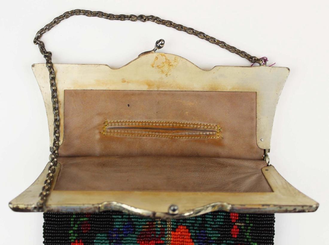 vintage Art Deco era beaded purse - 2