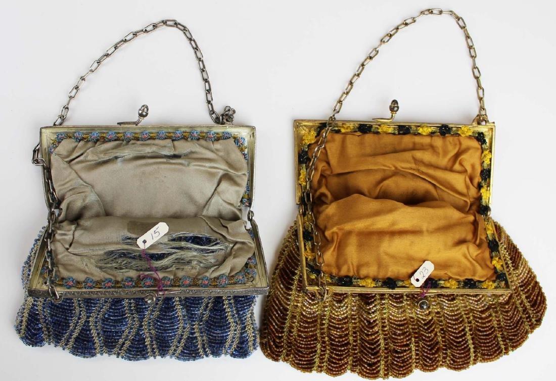 two vintage Art Deco era beaded purses - 4