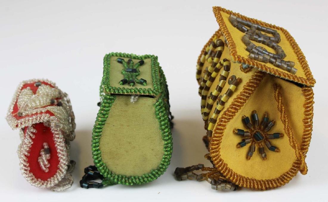 three vintage Native American purses - 5