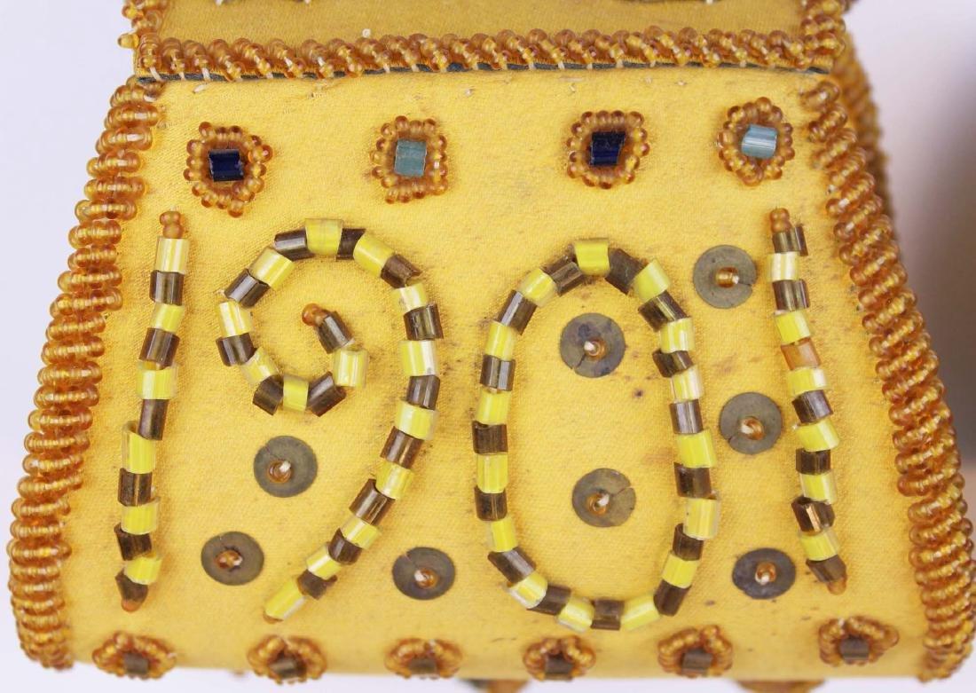 three vintage Native American purses - 9
