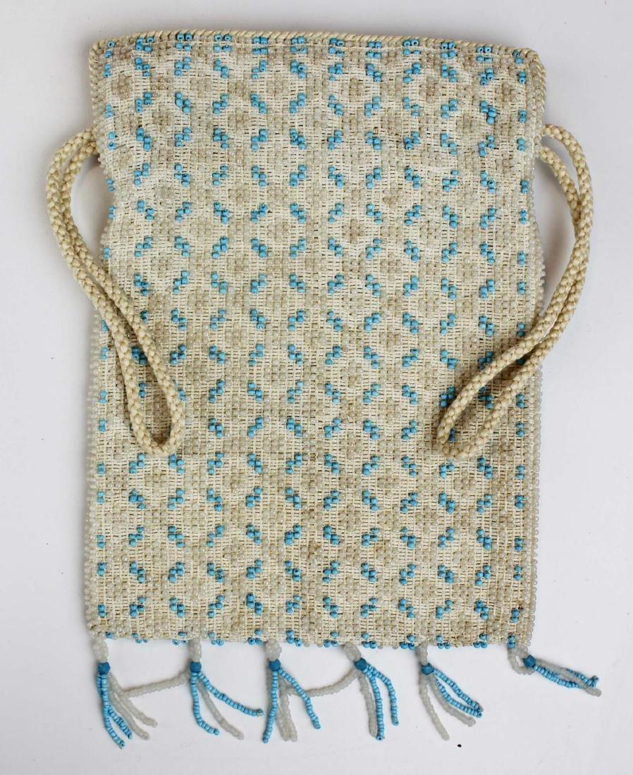 nine vintage cloth purses, clutch purses - 3