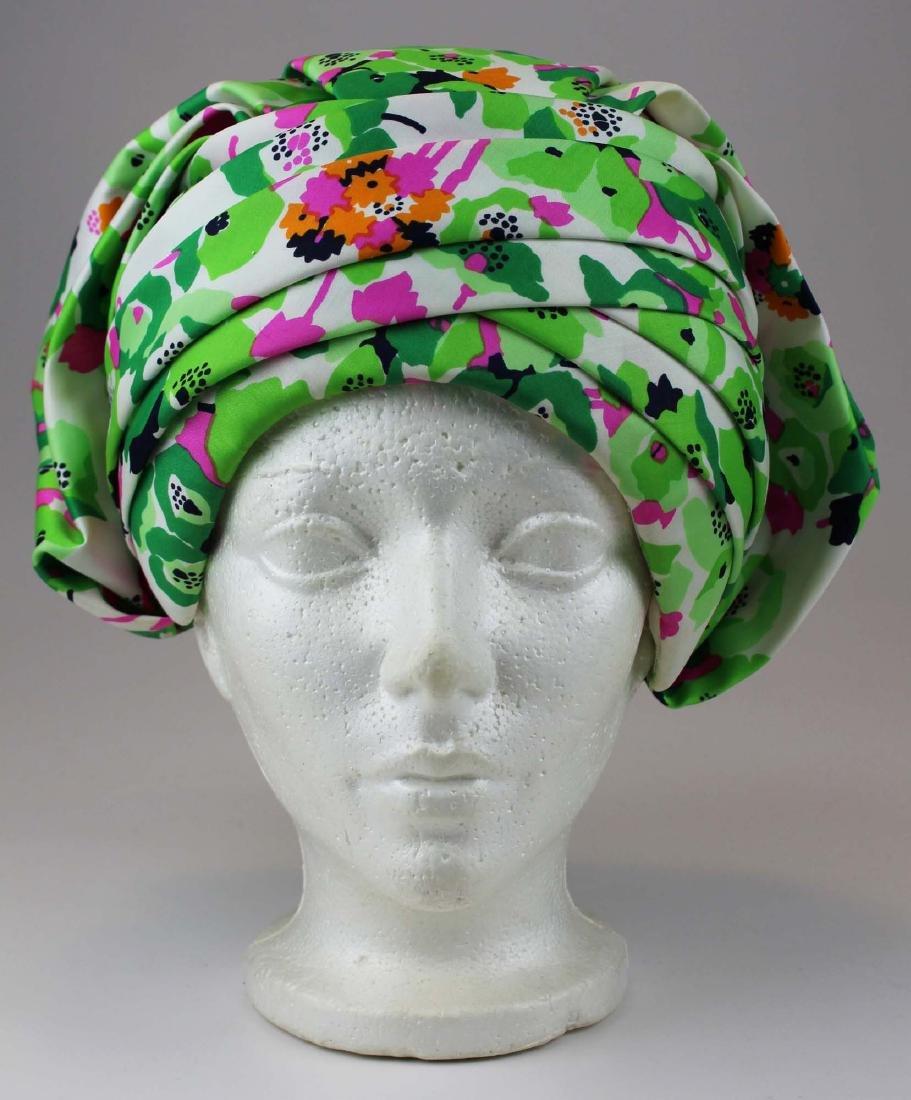 four Christian Dior silk hats - 2