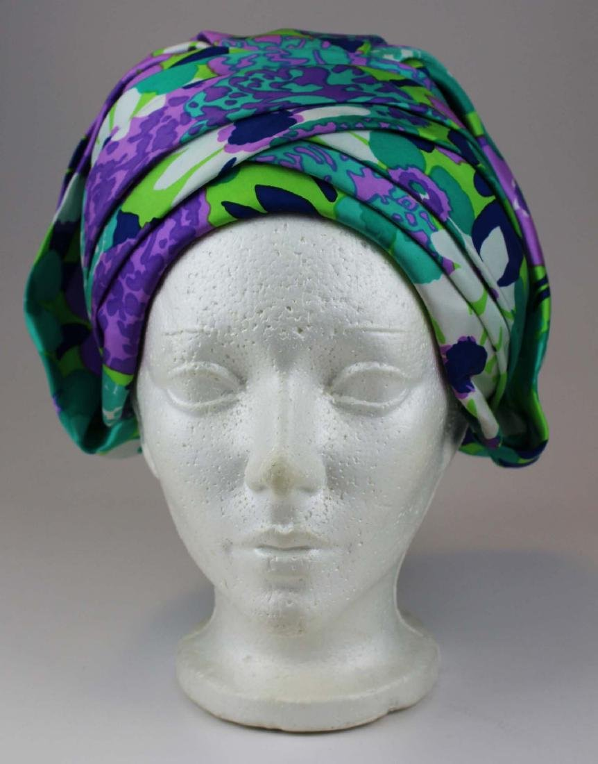 four Christian Dior silk hats - 3