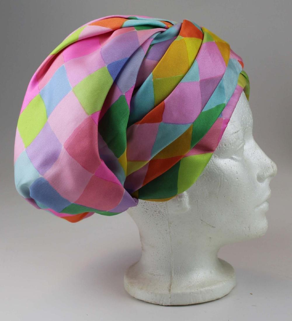 four Christian Dior silk hats - 7