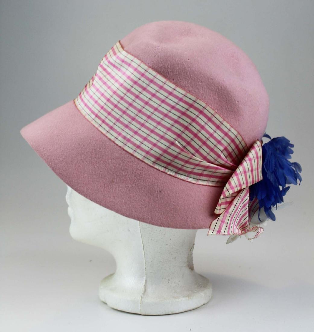 five Saks 5th Ave, Bloomingdales felt hats - 2