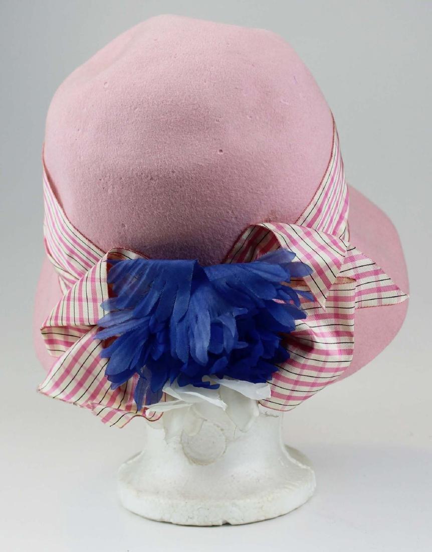 five Saks 5th Ave, Bloomingdales felt hats - 3