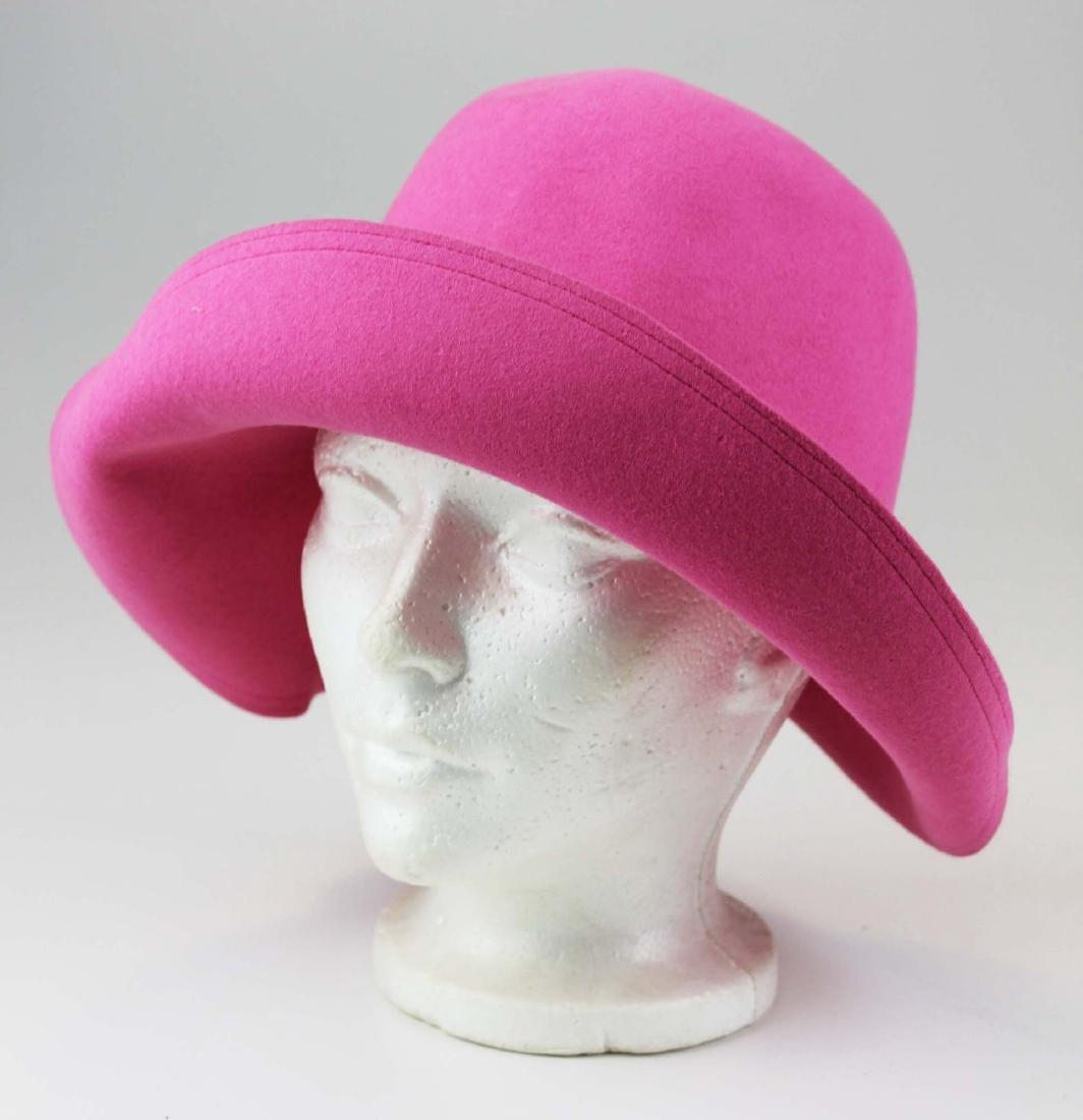five Saks 5th Ave, Bloomingdales felt hats - 6