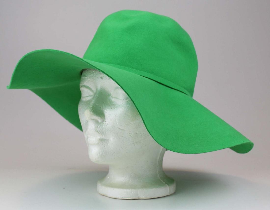 five Saks 5th Ave, Bloomingdales felt hats - 8